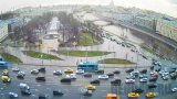 Webcam on Serafimovich Street in Moscow