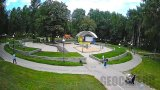 Webcam in the Sestroretsky city park, Klin