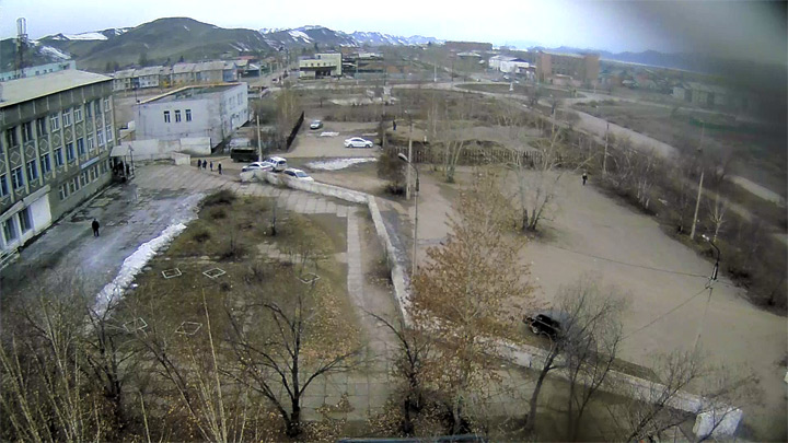 Webcam of the administration of the town of Shagonar