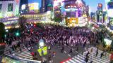 Webcam at a busy crossing in Shibuya, Tokyo (Tokyo, Japan)