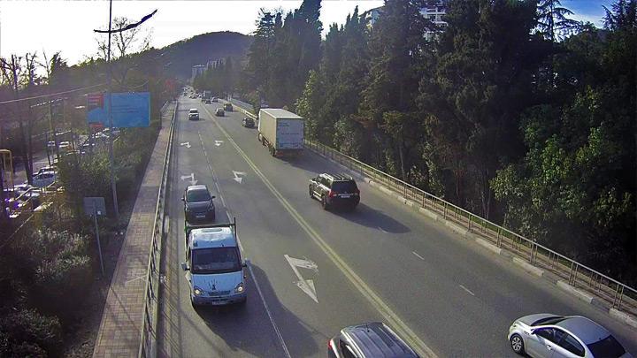 Веб-камера на Батумском шоссе