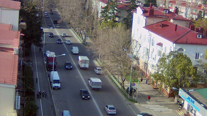 Webcam on Pasechnaya Street