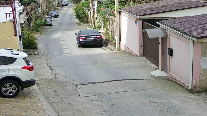 Веб-камера в переулке Рахманинова в Сочи
