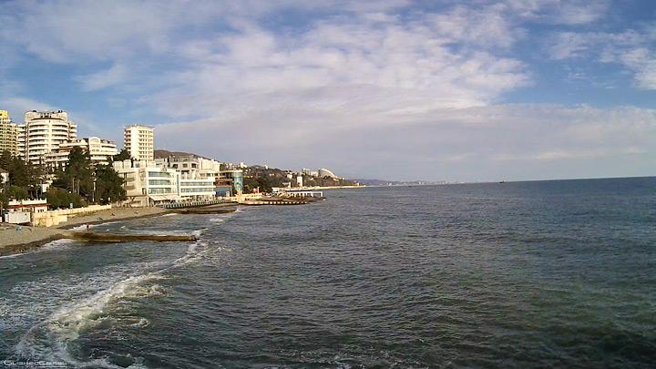 Веб-камера пляжа «Солнечный»