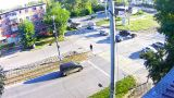 Webcam at the crossroads of Socialist/Vasiliev, Biysk (Biysk, Russia)