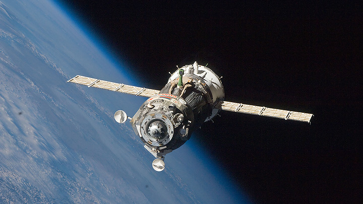 Docking of «Progress MS-05» at ISS