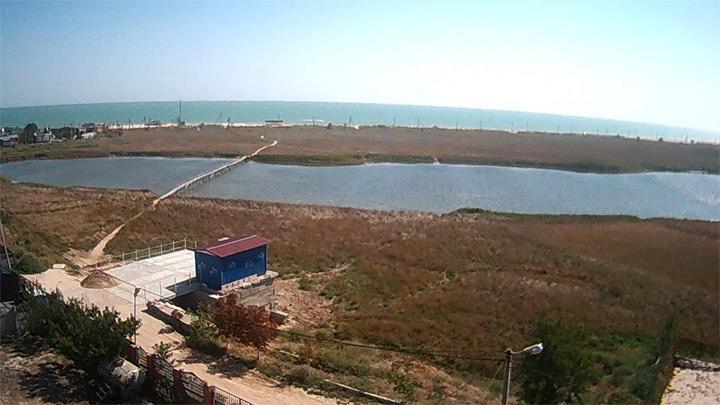 Веб-камера в заповедной зоне Степок в Кирилловке