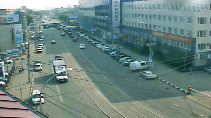 Веб-камера на ул. Танкистов