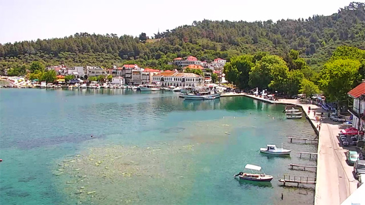 Thassos Live PTZ Webcam: View of Thassos