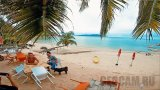 Webcam on Tongson Bay Beach, Koh Samui, Thailand