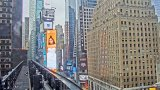 Times Square PTZ webcam, New York City