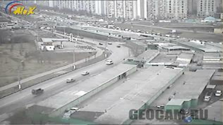 Traffic webcam in Moscow