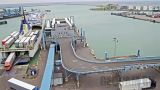 Port of Trelleborg webcam: ferry terminal