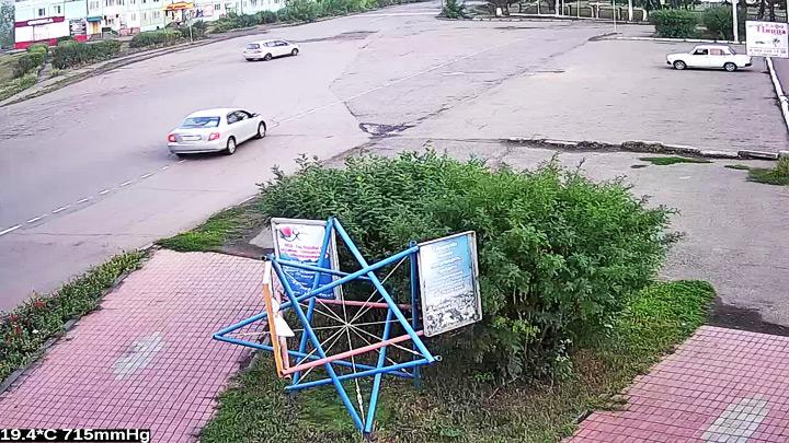 Веб-камера на здании администрации Тулуна