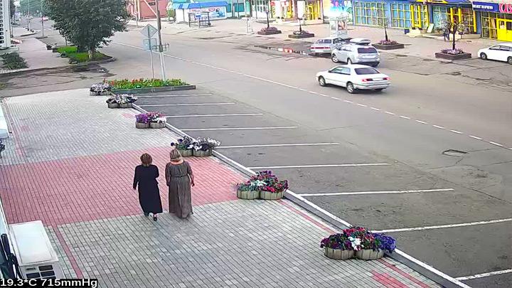 Веб-камера на улице Ленина в Тулуне
