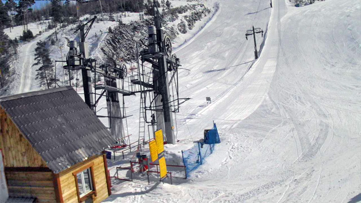 Веб-камера на спуске «гора Лысая»