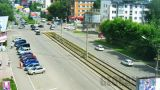 Webcam at Vasilyev/Martyanov intersection in Biysk city