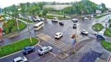 Webcam at the crossroads Trofimov/Vasiliev (Biysk, Russia)