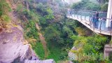 PTZ webcam on the glass bridge of Xiaowulai Waterfall, Taiwan, China