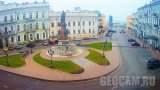 Yekaterininskaya square webcam, Odessa