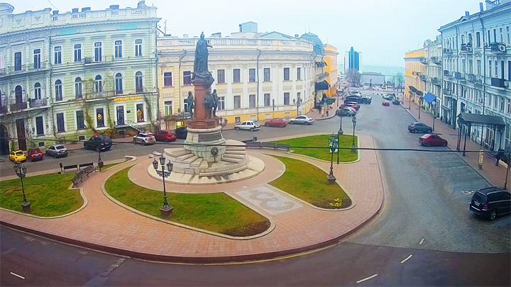 Yekaterininskaya square webcam, Odessa: Yekaterininskaya square webcam