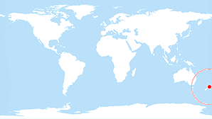 World map: Wellington Region