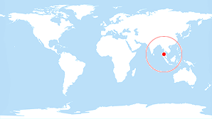 World map: Phuket